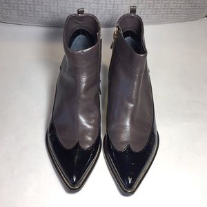 Sigerson Morrison Leather Ankle Boots Size 6